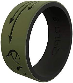 QALO Men s Olive Black Realtree Arrows Strata Ring Size 13 product image