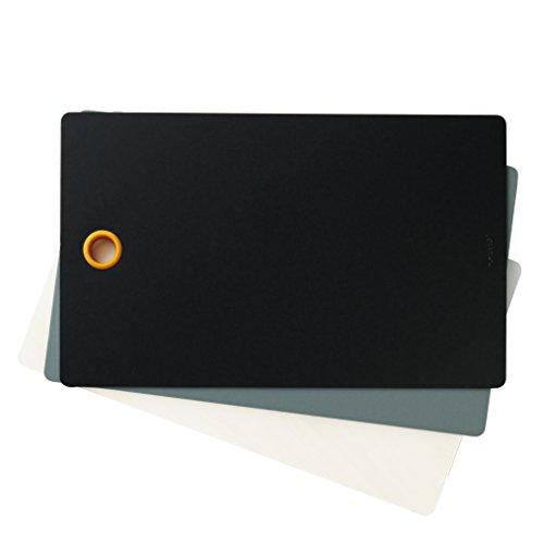 Fiskars Plateaux de coupe de remplacement pour planche à découper Fiskars, 3 plateaux, Plastique, 27 x 0,5 x 44 cm, Functional Form, 1014213
