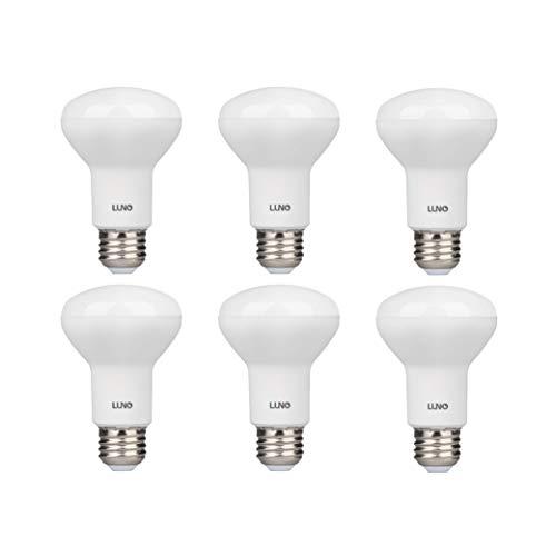 LUNO R20 Dimmable LED Bulb, 6.5W (45W Equivalent), 455 Lumens, 5000K (Daylight), Medium Base (E26), UL & Energy Star (6-Pack)