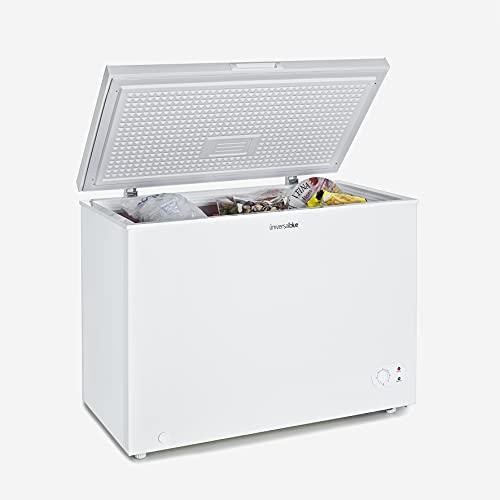 UNIVERSALBLUE - Congelador Dual - Volumen 290 litros - Congelador eficiencia energética A+ - Congelador Vertical - Congelador Arcón 2 en 1