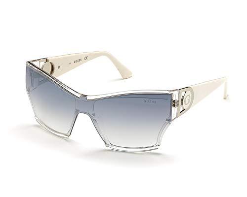 Guess GU-7650-S 26C - Gafas de sol, color blanco, gris y azul