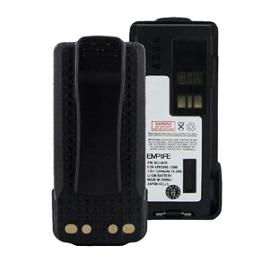 Motorola PMNN4409AR 2-Way Radio Battery (Li-Ion 7.4V 2200mAh) Rechargeable Battery - Replacement for Motorola PMLN4418 Battery
