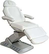 SPA NUMA SWIVEL+ 4 MOTOR ELECTRIC TREATMENT CHAIR BED WITH BUILT-IN FOOT PEDALS - 2246EB (White)