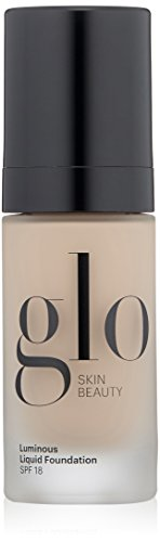Glo Skin Beauty Luminous Liquid Foundation SPF 18, Porcelain, 1 Fl Oz
