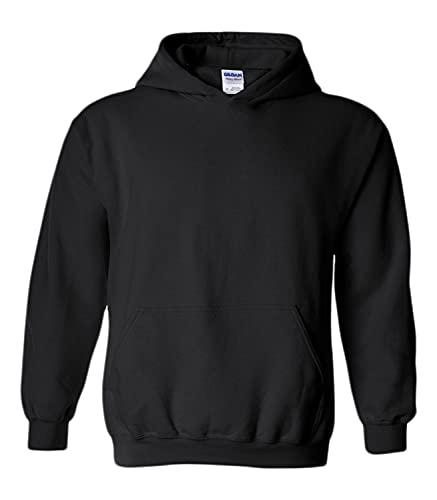 Gildan Blank Hoodie - Hooded Sweatshirt - Unisex Style 18500 Adult...