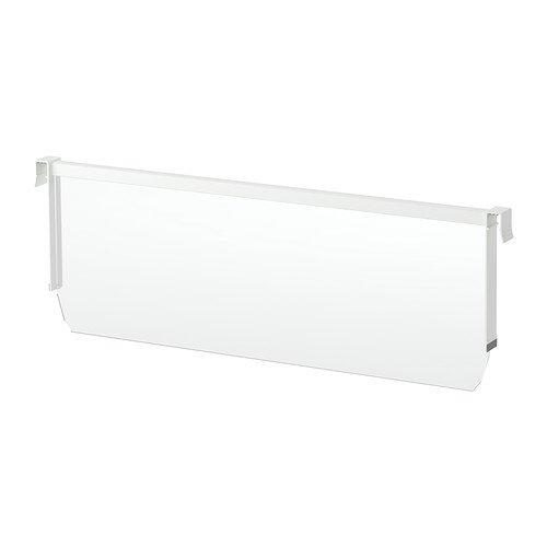 IKEA maximera–Trennung für hohe Schublade, weiß, transparent–60cm