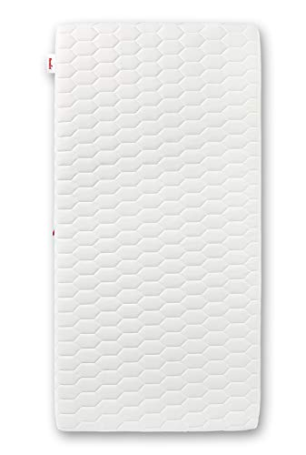 PARADIES Baby- und Kindermatratze Iris 70 x 140 cm, Öko-Tex Zertifiziert Standard 100 Klasse 1, medizinisch getestet