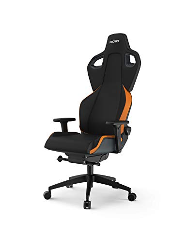 RECARO EXO Gaming Chair - ergonomischer, höhenverstellbarer Gaming Seat der Extraklasse - Sunset Orange