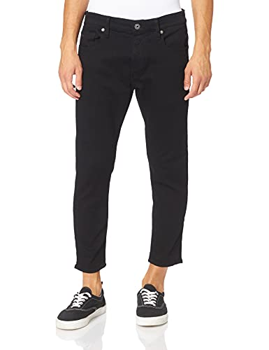 G-STAR RAW Herren 3301 Slim Fit Jeans, Schwarz (pitch black B964-A810), 32W / 34L