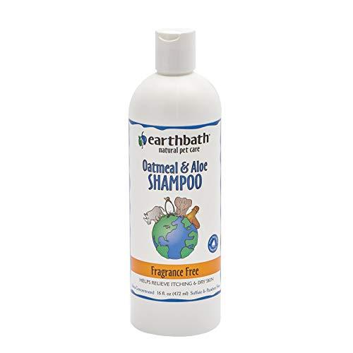 Earthbath Shampoing sans parfum pour chien - Gruau d'avoine et aloe - 472 ml