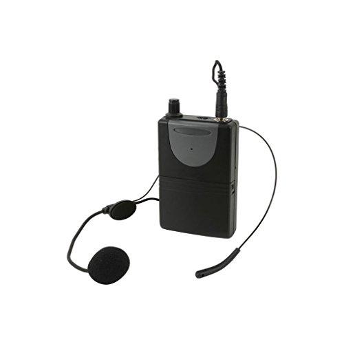 QTX headset voor mobiele telefoons en Adastra eenheden, selecteer de juiste frequentie UHF 864,8 MHz.