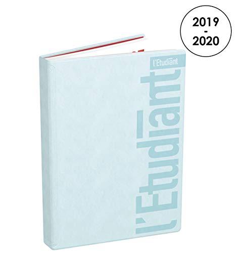 L'Étudiant Pastel Agenda Journalier 2019 - 2020 de Août à Juillet - 1 Jour par Page Format 15x20cm Bleu Pastel