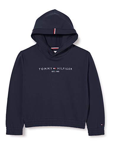 Tommy Hilfiger Essential Hooded Sweatshirt Suéter, Twilight Navy, 6 para Mujer