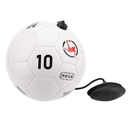 Juggle Pro Pallone di Calcio Allenamento Regista con Corda Regolabile per Migliorare Le Performance Tecniche, passaggi, Controllo del Pallone, palleggi …