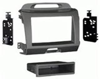 Radio Stereo Mounting Installation Dash Kit CHARCOAL 2DIN METRA 95-7344CH