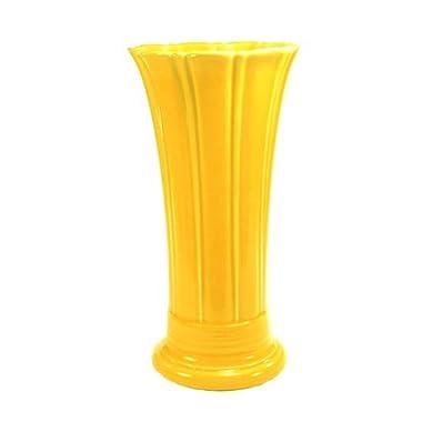 Fiesta 9-5/8-Inch Medium Vase, Sunflower