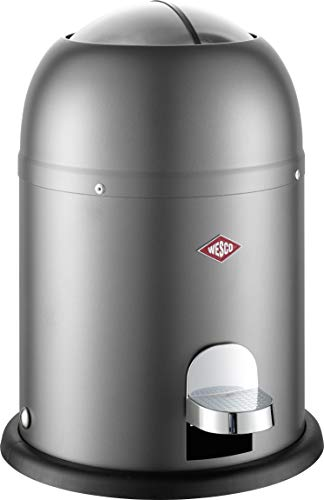 WESCO Mini Master Abfalleimer 6 L, Graphit Matt