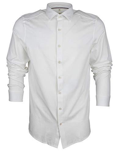 OLYMP Jersey Hemdbody fitKentLangarmVerstellba, weiß(Weiss), Gr. 45