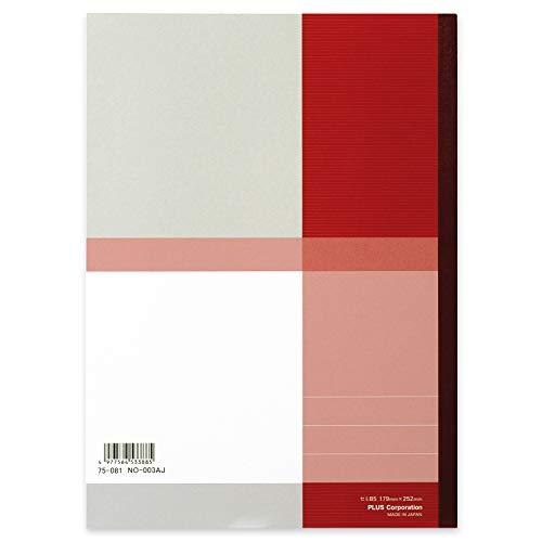 『プラス ノート セミB5(6号)A罫30枚10冊パック NO-003AJ-10P 75-085』の3枚目の画像