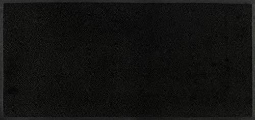Wash + Dry Fußmatte, Polyamid, Schwarz, 35 x 75 cm