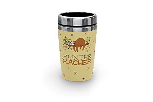 LaVida Zeit für Dich Thermobecher to go 250 ml Muntermacher