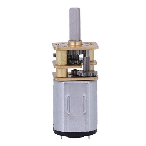 N20 Getriebemotor, Getriebemotor Mini Geschwindigkeit Reduziergetriebe DC Motor mit Vollmetallgetriebe für RC Auto Roboter Modell (150 RPM)