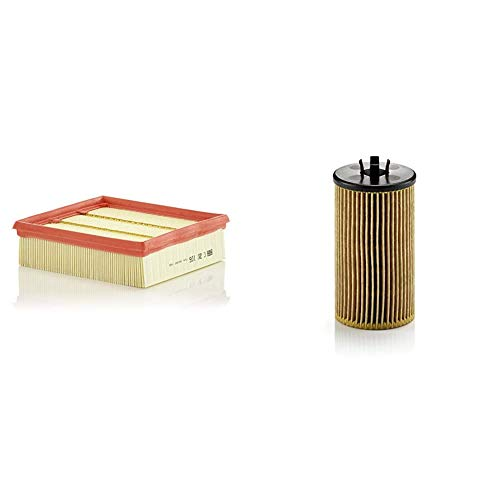 Original MANN-FILTER C 20 106 - Luftfilter - für PKW & HU 612/2 x Ölfilter, Für PKW