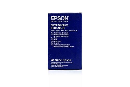 Original Epson C43S015374 / ERC-38-B Nylonband schwarz Black für Epson TM 300