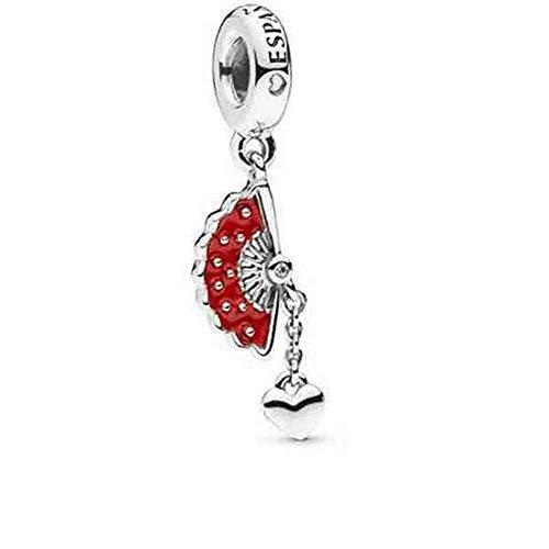 Pandora Charm Abanico español Rojo 797879EN09