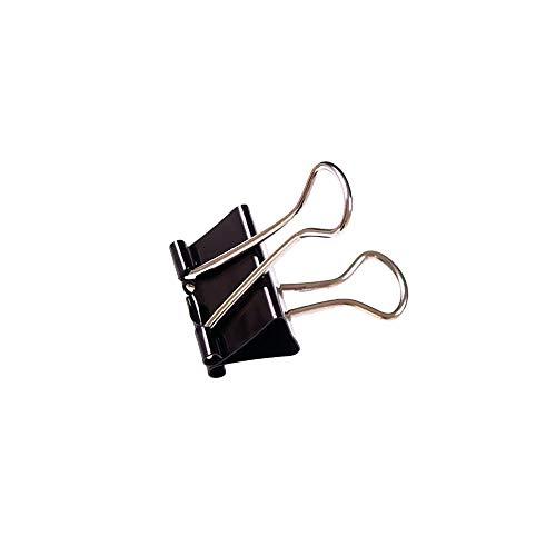 IXL Premier-Grip Foldback-Klammern 25 mm 100 Stück schwarz