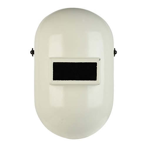 Fibre-Metal Pipeliner Fiberglass Welding Helmet with Ratchet Headgear (110WH), White