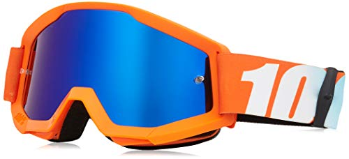 100% STRATA YOUTH Orange - Verres bleu miroir BARN