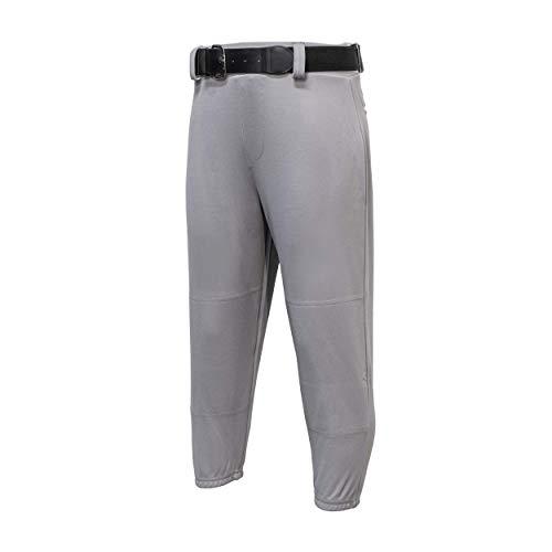 EASTON Youth PRO PULL UP Baseball Pant, Youth, Medium, Grey