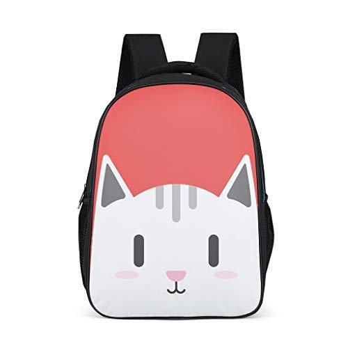 Rcerirt Unisex Daypack Wasserdicht Für 16-Zoll-Laptop und -Notebook für Frauen Männer Jungen Mädchen Animal Grey OneSize