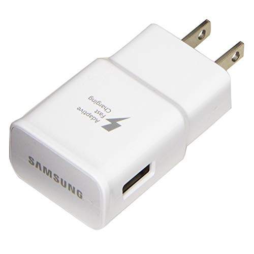 AFC uses Dual voltages for up to 50/% Faster Charging! T-Mobile Samsung Galaxy J7 2015 Adaptive Fast Charger Micro USB Cable Kit! Bulk Packaging 1 Wall Charger + 3 FT Micro USB Cable