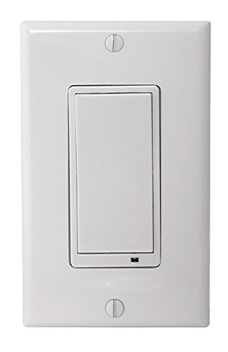 NuTone NWS15Z Smart Z-Wave Enabled Wall Switch, 15 Amp, White