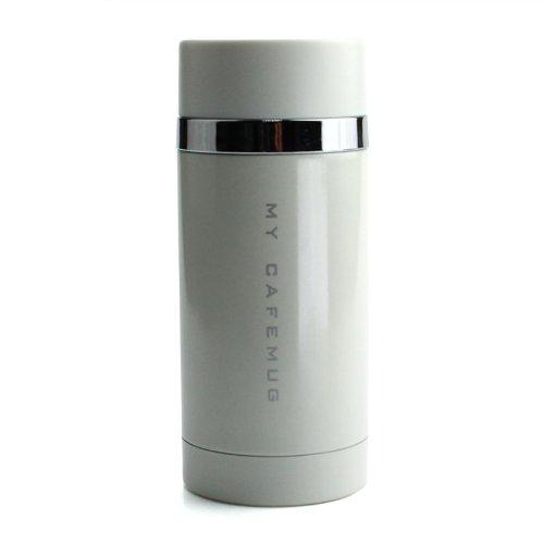 パール金属水筒200ml直飲みステンレスマグピュアホワイトプレミアムマイカフェスリムダイレクトH-6923