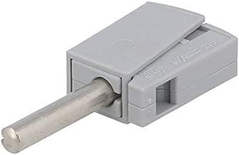 0,8/mm/² 6/A gris fonc/é 611778 Hdr Oscilloscope Adaptateur micro-dosenklemme s/érie 243/WAGO section transversale 0,6