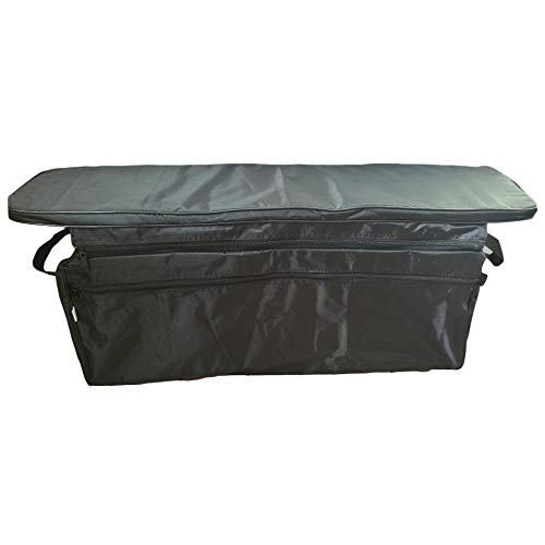 ACAMPTAR Canoe Inflatable Boat Seat Storage Bag with Padded Seat Cushion