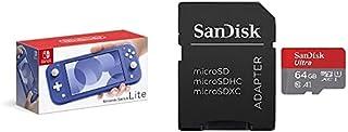 Nintendo Switch Lite ブルー+サンディスク microSD 64GB