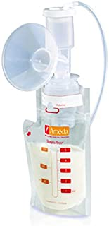 Ameda Store N Pour Breast Milk Storage Bags, 40-Count