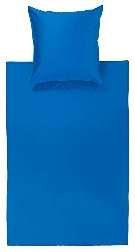 Bassetti Uni Bettwäsche, Baumwolle, Bluette, 135x200 cm