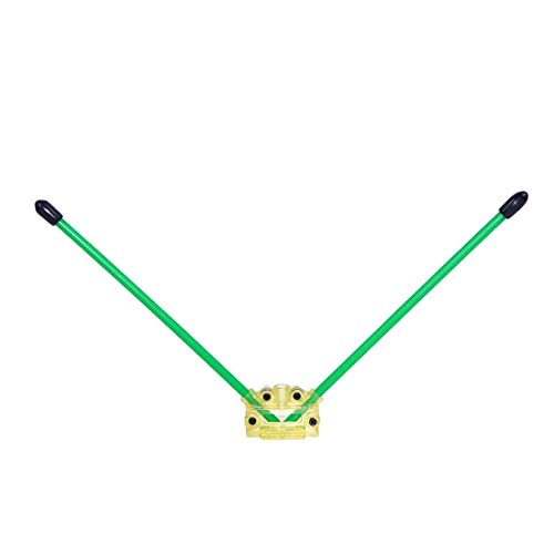 XUSUYUNCHUANG-HAT CC3D Atom V Typ Empfänger-Antenne Befestigung Sitzstandplatz Halter for DIY Racing Drone Mini FPV Racers Quadcopter Drone Zubehör (Color : 10sets)
