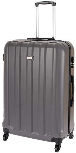 Cahoon – Hartschalen-Koffer Trolley Handgepäck 4-Rollen Reisekoffer 501 (M-L-XL zur Auswahl)