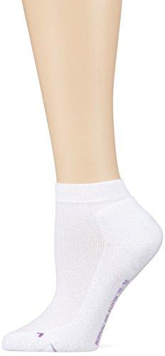 Hudson Damen Sneaker Socken 015205 Air Plush, Weiß (White 0008), 39/42