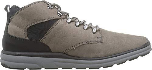 Geox Herren U HALLSON A Chukka Boots, Grau (Stone C9007), 45 EU