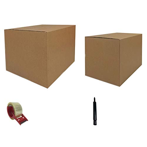 uBoxes Moving Boxes 1 Bedroom Economy 15 Moving Box Kit Plus Moving Supplies
