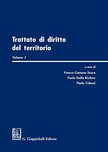Trattato di diritto del territorio: 1