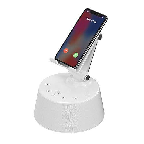 KAIFH Altavoces Bluetooth Haut-Parleur Sans Fil Bluetooth Avec Charge Pour Téléphone Portable Charge Avec Support Radio-Réveil Haut-Parleur Endurance Longue Qualité HD Fonction D'appel,1
