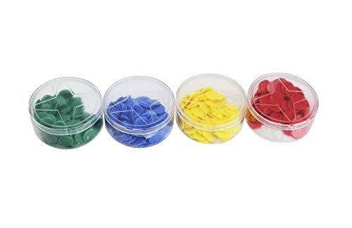 Wagtail Marcador de Plástico 4 Colores Fichas de Bingo para